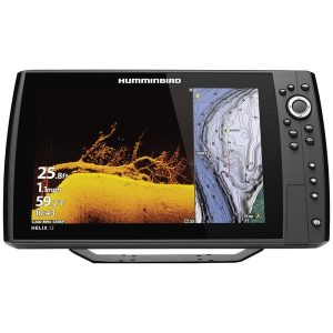 Humminbird 410910-1 HELIX 12 CHIRP MEGA DI+ GPS G3N Fishfinder with Bluetooth & Ethernet