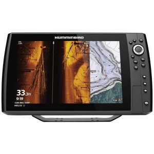 Humminbird 410920-1 HELIX 12 CHIRP MEGA SI+ GPS G3N Fishfinder with Bluetooth & Ethernet