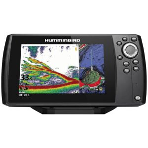 Humminbird 411060-1 HELIX 7 CHIRP GPS G3N Fishfinder with Bluetooth & Ethernet