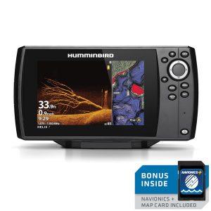 Humminbird 410940-1NAV HELIX 7 CHIRP MEGA DI GPS G3 Nav+ Fishfinder