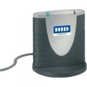 HID OMNIKEY 3121 R31210399 Flash Card Reader - USB 2.0 - Gray
