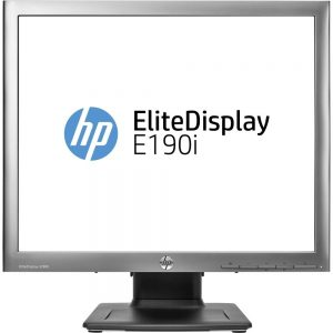 HP 19 ELite E190i 1280x1024 VGA DVI-D DisplayPort USB Ultra Slim LED LCD Black Monitor E4U30A8