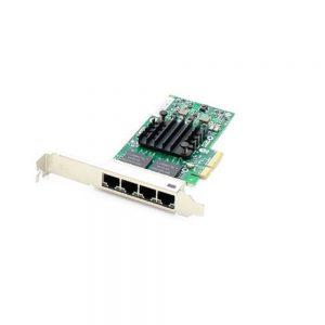 HP 366T Ethernet 1GB 4-Ports RJ45 PCI Express x4 Adapter 811546-B21