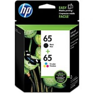 HP 65 (T0A36AN) Original Ink Cartridge - Inkjet - 100 Pages Black