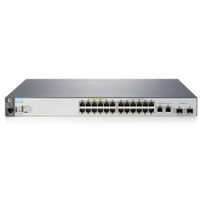 HP Aruba 2530 Series 2530-24-PoE+ 24-Ports rack-mountable Switch J9779A#ABA