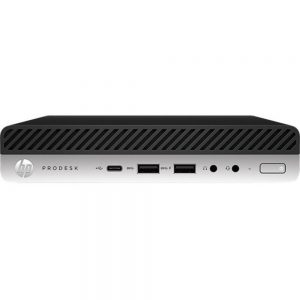 HP Business Desktop ProDesk 600 G4 Desktop Computer - Core i5 i5-8500T - 8 GB RAM - 256 GB SSD - Desktop Mini - Windows 10 Pro 64-bit - Intel UHD Graphics 630 - English Keyboard - Wireless LAN - Bluetooth
