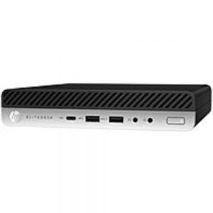 HP EliteDesk 705 G4 Desktop Computer - Ryzen 5 PRO 2400GE - 8 GB RAM - 256 GB SSD - Desktop Mini - Windows 10 Pro 64-bit - AMD Radeon RX Vega 11 Graphics - English Keyboard - Wireless LAN - Bluetooth