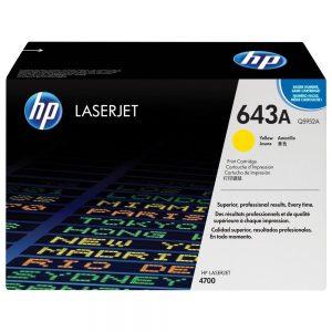 HP Genuine 643A Yellow Toner Cartridge For LJ 4700DN Q5952A