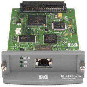 HP JetDirect 635n Print Server - 1 x 10/100/1000Base-T - 1Gbps