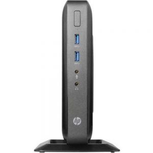 HP L1D39UC t520 Flexible Thin Client - AMD GX-212JC 1.2 GHz Dual-Core Processor - 4 GB DDR3L SDRAM - 16 GB SSD - Windows Embedded Standard 7E - Black