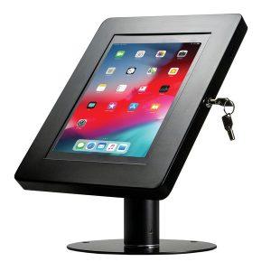 CTA Digital PAD-HSKSB Hyperflex Security Kiosk Stand for Tablets (Black)