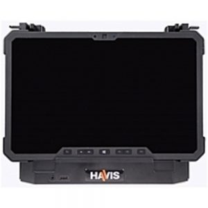 Havis DS-DELL-613-2 Cradle with Dual Pass-through Antenna for Dell Latitude 12 Rugged Tablet - Black