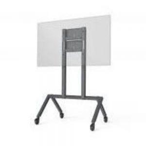Hecklerdesign H489-BG Modern Video Conferencing Cart