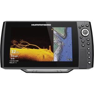 Humminbird 410880-1CHO HELIX 10 CHIRP MEGA DI+ GPS G3N CHO Fishfinder with Bluetooth & Ethernet