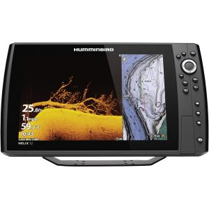 Humminbird 410910-1CHO HELIX 12 CHIRP MEGA DI+ GPS G3N CHO Fishfinder with Bluetooth & Ethernet