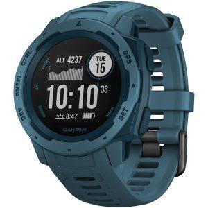Garmin 010-02064-04 Instinct GPS Watch (Lakeside Blue)