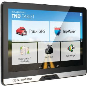 "Rand McNally 528013076 IntelliRoute 8"" TND Tablet 80 with Built-in Dash Cam"