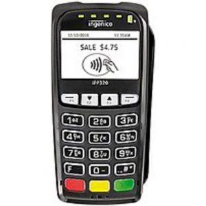 Ingenico IPP320-USSCN39D IPP320 Smart Card Reader - USB - RBA 9.02 - Black