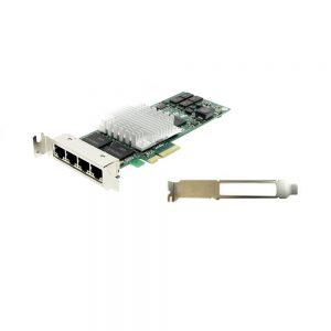 Intel PRO/1000 PT Quad Port LP Server Adapter PCI Express x4 RJ45 10/100/1000Base-T EXPI9404PTL