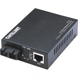 Intellinet Network Solutions Fast Ethernet RJ45 to SC