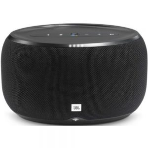 JBL Link 300 JBLLINK300BLKUS Bluetooth Portable Speaker With Google Assist - Black