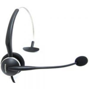 Jabra 2104-820-105 GN2124 Monaural 4-in-1 Wearing Style Flex Boom Noise Canceling Headset - Semi-Open - Wired