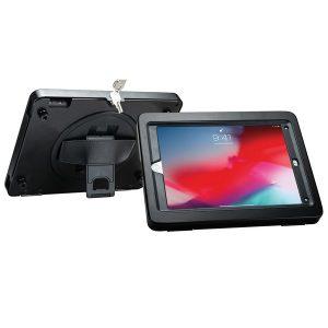 CTA Digital PAD-KHC9 Kickstand Handgrip Case for iPad with Security Enclosure Jacket