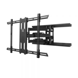 Kanto PDX680 Wall Mount for TV - Black - 1 Display(s) Supported80 Screen Support - 125 lb Load Capacity - 700 x 400 VESA Standard