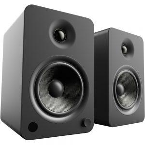 Kanto YU6MB 2.0 Bluetooth Speaker System - 100 W RMS - Matte Black - Bookshelf - 50 Hz to 20 kHz - USB