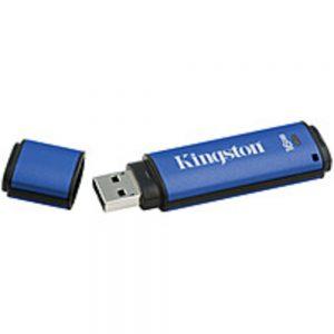 Kingston DataTraveler Vault Privacy 3.0 - 16 GB - USB 3.0 - 165 MB/s Read Speed - 22 MB/s Write Speed