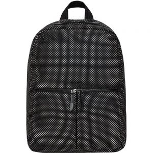 Knomo Berlin Carrying Case (Backpack) for 15 Notebook - Black Reflective - Water Resistant - Polyester