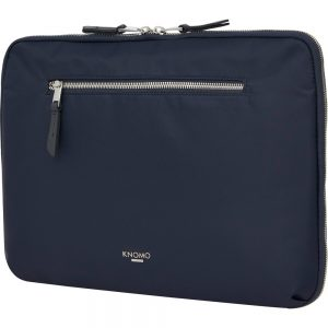 Knomo Mayfair Carrying Case for 13 Notebook - Dark Navy - Water Resistant - Nylon