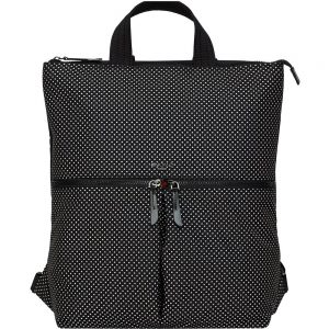 Knomo REYKJAVIK Carrying Case (Backpack/Tote) for 15 Notebook - Black Reflective - Polyester