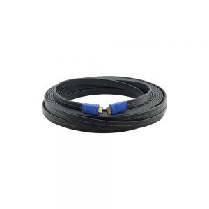Kramer C-HM/HM/FLAT/ETH-50 Flat High Speed HDMI Cable 50ft 97-01014050