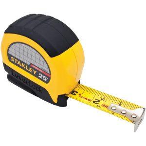 STANLEY STHT30825 LeverLock 25ft Tape Rule Measure