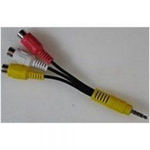 LG Electronics EAD61273134 Composite Video Audio Cable - Black