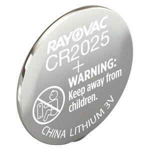 RAYOVAC KECR2025-1G 3-Volt Lithium Keyless Entry Battery (1 pk; CR2025 Size)