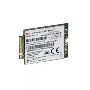 Lenovo ThinkPad Sierra EM7455 4G LTE BroadBand Cellular Modem 4XC0M95181