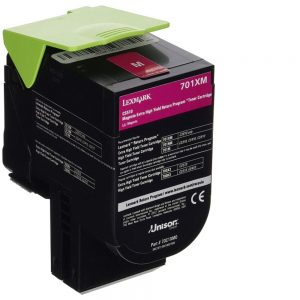Lexmark Genuine 70C1XM0 Magenta Extra High Yield Toner Cartridge 70C1XM0