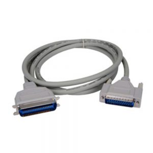Lexmark Parallel Cable - DB-25 Male Parallel - Centronics Male Parallel - 10ft