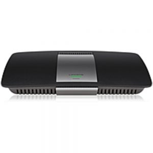 Linksys EA6400 IEEE 802.11ac Wireless Router - 2.40 GHz ISM Band - 5 GHz UNII Band - 4 x Antenna - 1300 Mbps Wireless Speed - 4 x Network Port - 1 x Broadband Port - USB - Gigabit Ethernet Wall Mountable