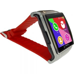 Linsay Executive EX5LR Smartwatch with Camera - Red