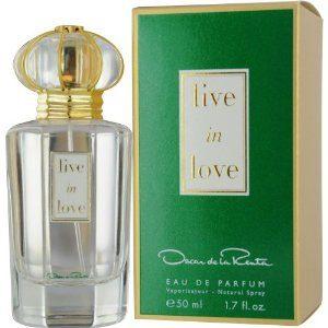 Live in Love by Oscar De La Renta Fragrance for Women Eau de Parfum Spray 1.7 oz 2018