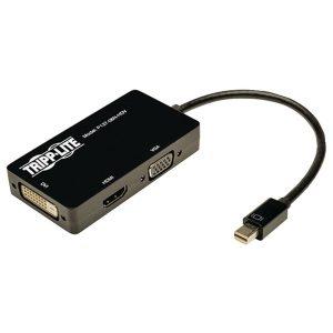 Tripp Lite P137-06N-HDV Mini DisplayPort to VGA/DVI/HDMI All-in-One Adapter/Converter