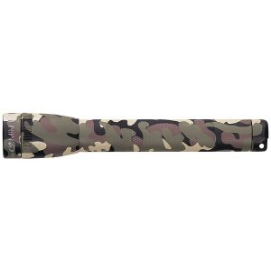 MAGLITE SM2A02H 14-Lumen Mini Flashlight with Holster (Camo)