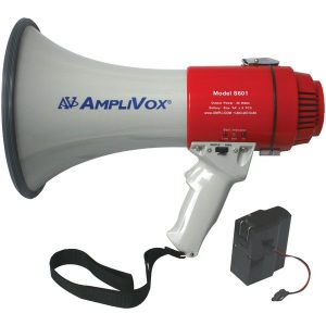AmpliVox SB601R Mity-Meg 20-Watt Megaphone (Bundled with Rechargeable Battery)