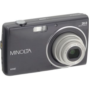 Minolta MN5Z-BK 20.0-Megapixel MN5Z HD Digital Camera with 5x Zoom (Black)