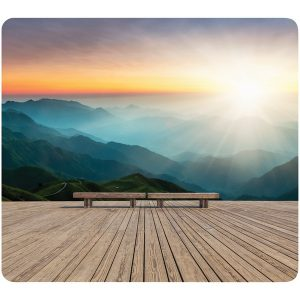 Fellowes 5916201 Recycled Mouse Pad (Mountain Sunrise)
