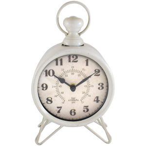 Westclox 91118 Metal Table Clock