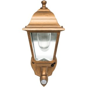 MAXSA Innovations 48219 Battery-Powered Motion-Activated Wall Sconce (Copper)